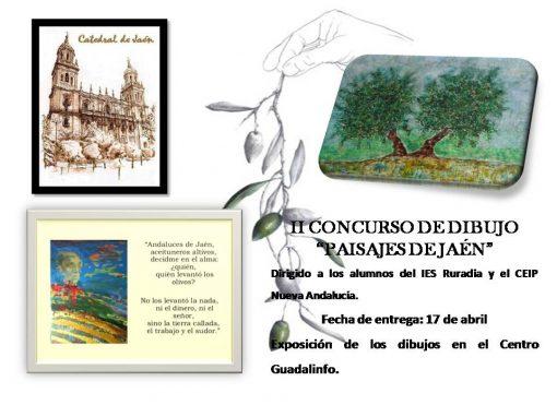 "II Concurso de dibujo ""Paisajes de Jaén"""