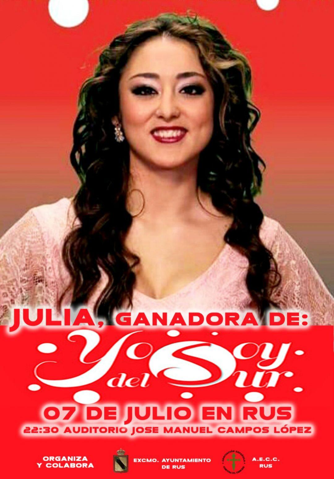 Actuación de Julia Garrido – Yo Soy del Sur