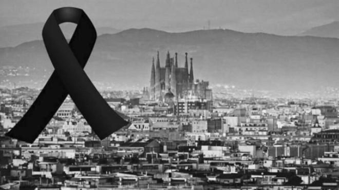 Concentración en contra del Atentado de Barcelona
