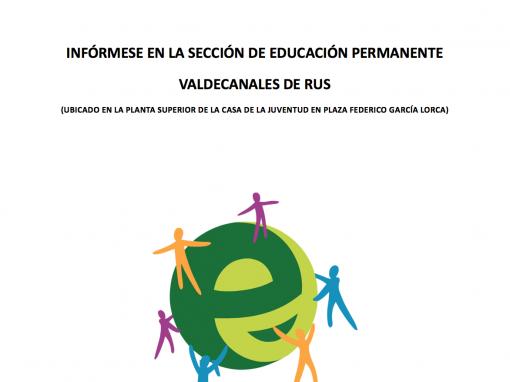 EDUCACIÓN PERMANENTE – Educación para Adultos