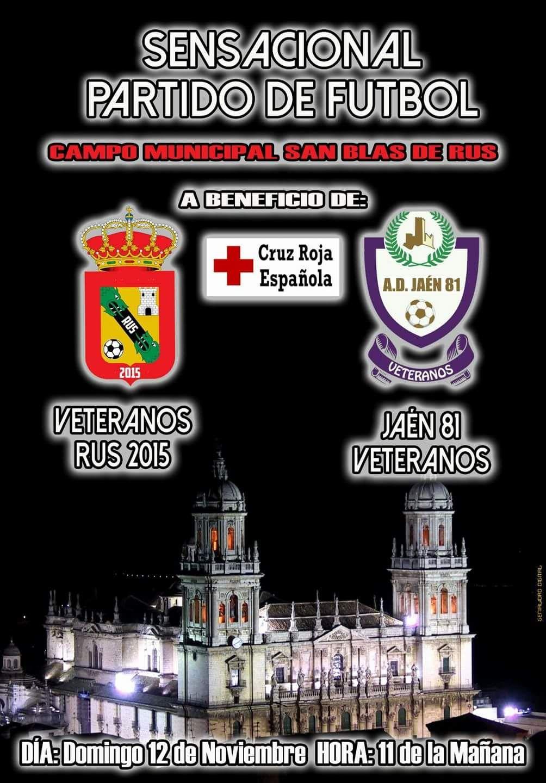 Partido de Fútbol a Beneficio de Cruz Roja Española