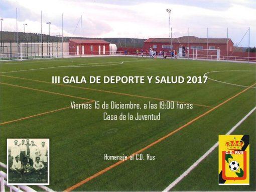 III Gala de Deporte y Salud 2017