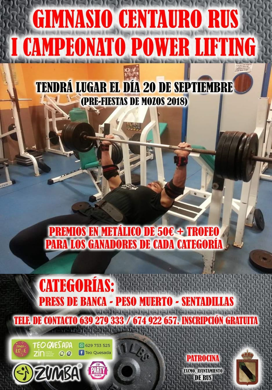 I Campeonato Power Lifting – Gimnasio Centauro