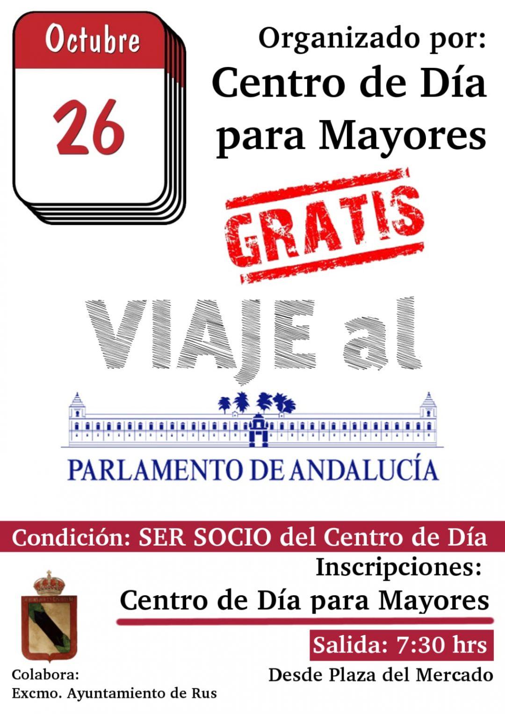 Viaje al Parlamento Andaluz